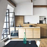 Råt og minimalistisk tagloft