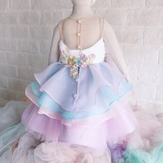 unicorn dress #honeybeekids #honeybee_kids #instagood #instakids #kidsdress #unicorndreams #unicorndress #unicornparty
