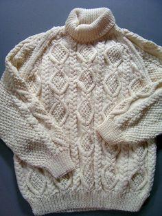 Classic Aran sweater