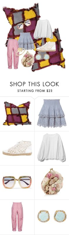 """""""Pillows"""" by blumbeeno ❤ liked on Polyvore featuring St. Roche, Chanel, Gap, Gucci, Monsoon, Bottega Veneta, Louise et Cie and Bing Bang"""