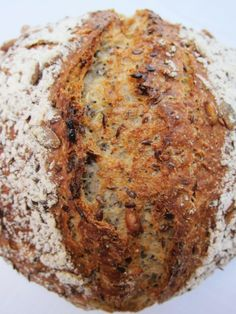 - Seedy Spelt Bread - yeasted, no knead Dutch Oven sub poppy seeds with chia seeds?