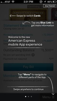 American Express first open coach marks #coachmark