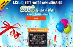 Gagnez 1 bon d'achat LDLC d'une valeur de 200 € ! Lien Facebook : https://www.facebook.com/LDLC.com/app_577136205654210 #gagner #bonachat #LDLC #facebook