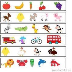 (2015-06) Hvilken passer ikke? Preschool Learning Activities, Kindergarten Worksheets, Therapy Activities, Kids Education, Special Education, Early Learning, Kids Learning, Problem Solving Skills, Elementary Art