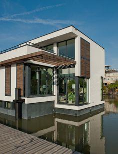 Drijvende woningen in Delft | Zeinstra Veerbeek Architecten