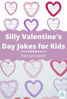 The silliest collection of Valentine's Day jokes for kids. Your kids are going to have so much fun sharing them with their friends. #valentinesforkids #valentinejokesforkids #printablejokesforkids #funnyvalentinejokesforkids #freeprintable #valentineknockknockjokesforkids Valentines Day Jokes, Valentines Day Activities, Valentines For Kids, Valentine Day Crafts, Funny Valentine, Creative Activities For Kids, Creative Kids, Happy Mom, Happy Kids