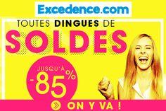 #SOLDES #excedence juin 2015 / http://www.excedence.com