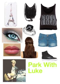"""Park with Luke"" by jayhoranhood13 ❤ liked on Polyvore featuring Pull&Bear, Supra, Effy Jewelry, ASOS and Forever New"