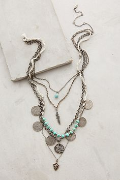 Layered Sonho Necklace #anthropologie #flashpaperscissors