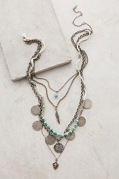 Layered Sonho Necklace #anthropologie #flashpaperscissors