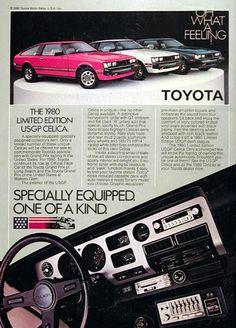 1980 Toyota LE Celica Ad