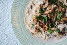 Creamy Garlic Mushroom Pasta 2