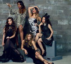 Fifth Harmony-Lauren Michelle Jauregui, Allyson Brooke Hernandez, Karla Camila Cabello, Normani Kordei Hamilton, and Dinah Jane Hansen