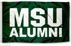 Michigan State University Alumni Flag