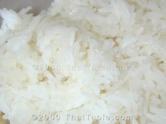 Easy Coconut Milk Sticky Rice Recipe:    1 cup coconut milk,  2 pinches salt,  1 cup Sticky Rice,  2 tablespoons sugar