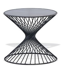 Look at this #zulilyfind! Black Xavier Table by Foreside #zulilyfinds