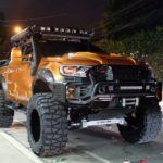 Amazing Ford Ranger By Autobot AutoworksFully transformed Ford Ranger using only Autobot approved brands to assure quality and durable performance : •Option4wd 4″ DROPKIT •Option4wd Rol…