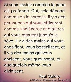 Paul Valéry. L'idée fixe ou Deux hommes à la mer.