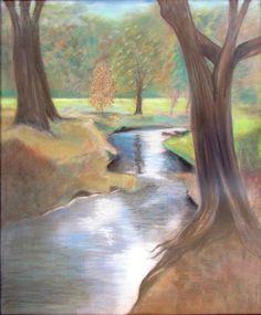 Cherokee Park In Louisville Ky Painting  - Cherokee Park In Louisville Ky Fine Art Print