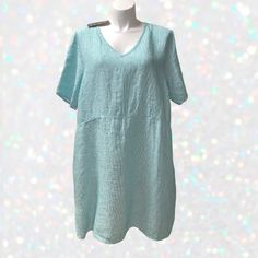 FLAX Designs   Linen  Dress  1G  /&  2G  /&  3G   NWT  Truly Dreamy Dress BLK