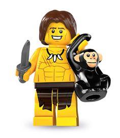 Lego Minifigures Series 7 - Jungle Boy