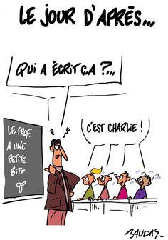 """""""Le jour d'après"""" Par @hervebaudry #LaFranceEstCharlie #NousSommesCharlie"""