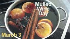 Such a treat on winter days. I'll take mulled wine over hot chocolate any day!