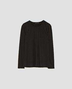 SOFT BASIC T-SHIRT from Zara