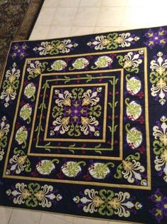 William Morris in Quilting: Show and tell