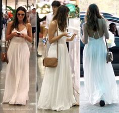 O vestido branco que Bruna Marquezine usou no Shopping Barra da Tijuca no RJ, chamou a atenção das leitoras e fãs da moça. O vestido branco e longo é daUrban Outfitters. O vestido...