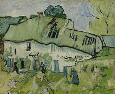 Farmhouse, Vincent van Gogh
