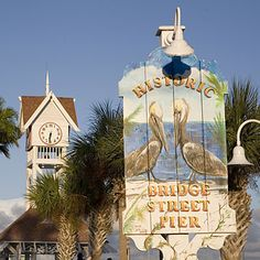 Enjoy a little boutique shopping on Bridge Street in Anna Maria Island!