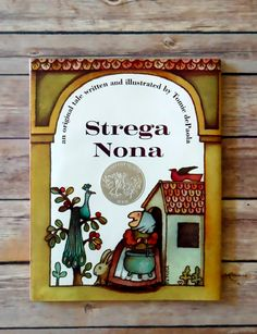 Book of the Week: Strega Nona. One of our all-time favorites!