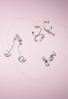 Which earrings from the PANDORA Valentine's collection is your favourite? Every single one is hand-finished and crafted with love.