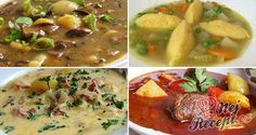 24 nejlepších zimních polévek, které vás zahřejí a zasytí! Czech Recipes, Ethnic Recipes, Food 52, Cheeseburger Chowder, Mashed Potatoes, Food And Drink, Lunch, Salad, Treats