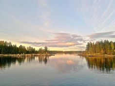 Ruska (the finnish word for autumn colors) on the Lake Saimaa