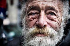 old man face