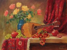 Mandolin Still Life