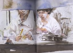 Urban Sketchers: Book review: The Urban Sketcher by Marc Taro Holme...