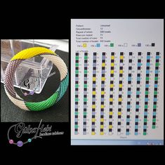 Periodic Table, Beads, Color, Model, Instagram, Beading, Periodic Table Chart, Periotic Table