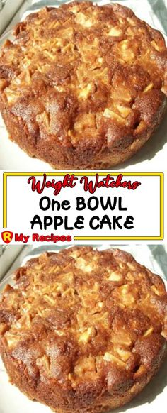 1 cups sugar [adjust sugar to your liking. One Bowl Apple Cake Recipe, Apple Bundt Cake Recipes, Apple Coffee Cakes, Apple Recipes Easy, Apple Dessert Recipes, Homemade Cake Recipes, Sweet Recipes, Rock Recipes, Muffin Recipes