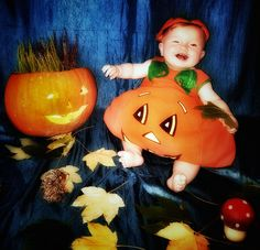 Halloween Babyfotografie