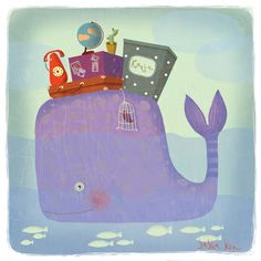 Il·lustracions infantils de Sasha Kru