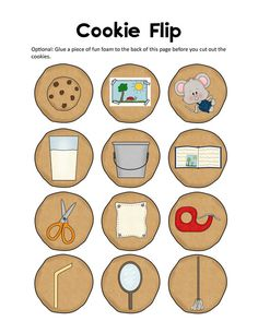 FREE If You Give a Mouse a Cookie Lapbook Printables print two for a two person matching game Preschool Literacy, Preschool Books, Free Preschool, Literacy Activities, Preschool Activities, Kindergarten, Literacy Centers, Mouse A Cookie, Big Cookie