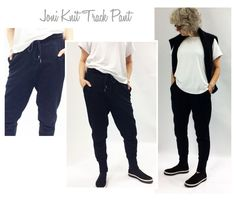 Joni Knit Track Pant // Sizes 16, 18 & 20 // PDF Women's Sewing Pattern for Instant Download by StyleArc on Etsy https://www.etsy.com/listing/243550391/joni-knit-track-pant-sizes-16-18-20-pdf