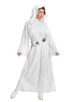 This Deluxe Adult Princess Leia Costume for women is a great Star Wars character costume from the original trilogy.