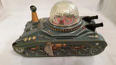 Daiya Space Tank Battery operated toy from 60s/ebay