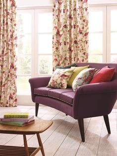 Whitehead Designs Jive Sofa Fabric: Swaffer In Bloom Collection