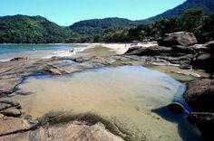 Praia Domingas Dias/ Ubatuba-Litoral Norte SP
