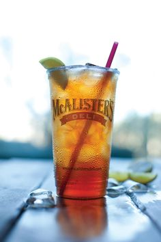 McAlister's Famous Sweet Tea™ - Some people can't live without it!